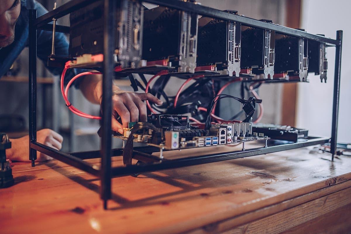 NVIDIA crypto mining