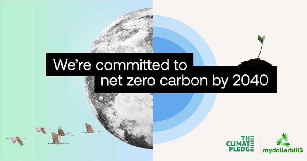 The climate pledge Mydollarbills